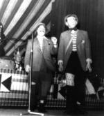 Gesangsduo Franz Stegerwald und Ewald Block