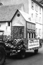 Unser Motivwagen zur 1900 Jahrfeier