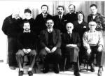 Der Vorstand 1991 mit Präses Pfarrer Tiburtius Wilms