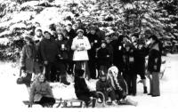 Ausflug in den Winterwald