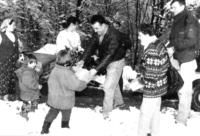 Empfänger unserer Weihnachtspäckchen in Bosnien