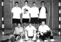 Die Siegermannschaft beim Diözeanfußballtunier in Hochheim
