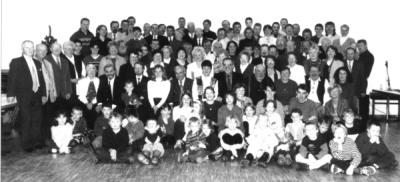 Mitglieder der Kolpingsfamilie Heddernheim im Jubiläumsjahr